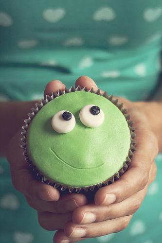 Cupcake de Sapo di Marina Aguiar - via Flickr