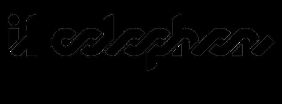 Il Colophon - Rivista letteraria di Antonio Tombolini Editore. Logo di Martaa D'Asaro.